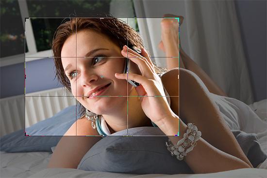 Bijsnijden foto in Photoshop